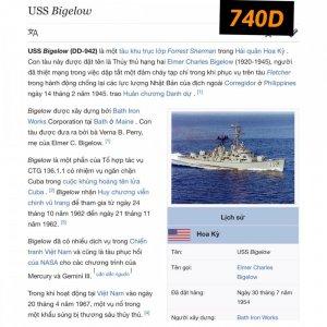 740D-chữ xéo 1974 USS BIGELOW...