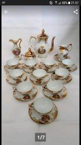 Bán bộ tách trà của Châu âu, hàng mua tại Đức