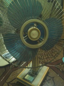 Sanyo electric fan