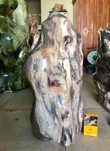 Cây đá ngũ sắc, nặng 42kg, giá...