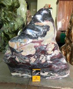 Cây đá vân thổ cẩm, cao 52cm,...