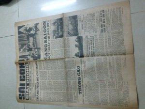 Báo Sggp ra ngày 15/5/1975