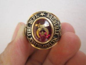Nhẫn vàng 10K, lực lượng cảnh sát cứu hỏa cực độc và hiếm