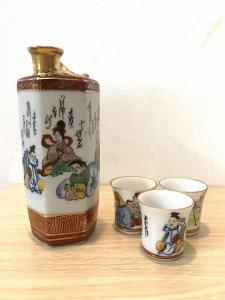 Bộ bình trà chim hót của Nhật