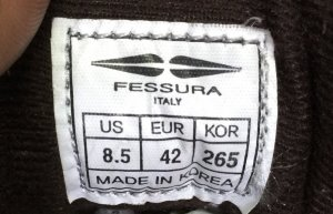 Giày FESSURA ITALY size eur 42
