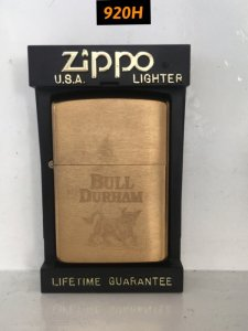 920H-brush brass 1992- BULL DURHAM