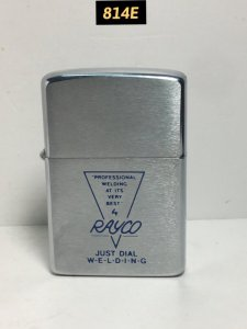 814E-brush chrome 1981- RAYCO