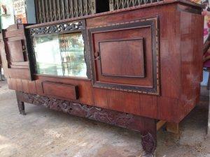 Tủ búp phê xưa gỗ cẩm lai gõ