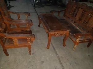 Bộ salon tiện gỗ lim