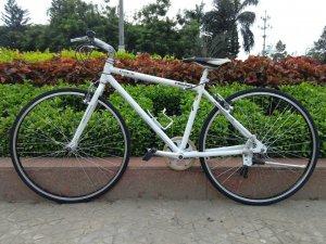 Xe đạp trắng - Hàng bãi Nhật (MS 126)