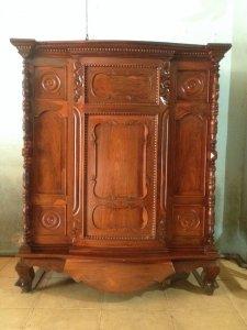 Tủ thờ gỗ cẩm lai xưa