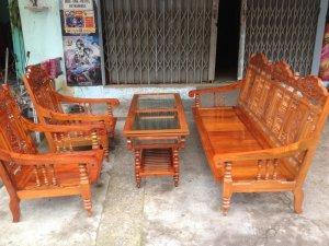 Bộ ghế gỗ lim 4 món