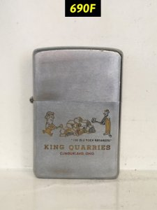 690F-chữ xéo 1969 -KING QUARRIES