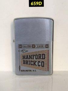659D-chữ xéo 1965 -HANFORD BRICK