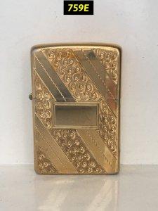 759E-chữ xéo 1975- Gold plate (...