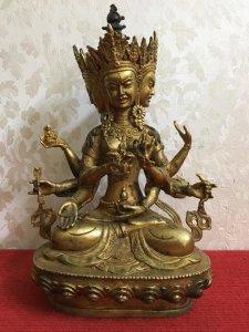 Tượng Phật 3 mặt siêu đẹp, siêu...
