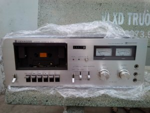 casette tape deck kenwood...