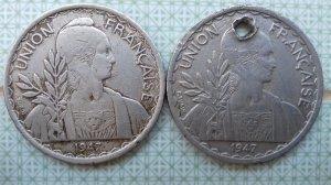 đồng xu bạc của Pháp tìm chủ...