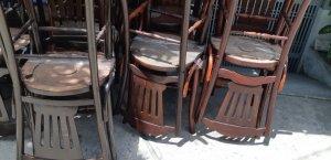40 ghế rẻ quạt gõ đỏ xưa