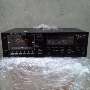 tape deck fisher DD300 giá 2.5 triệu có video test máy