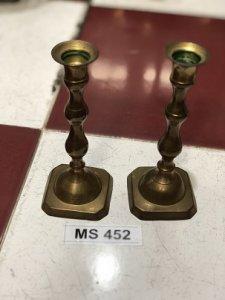 Bộ 2 Chân Nến Đế Vuông (MS452) MADE IN INDIA -