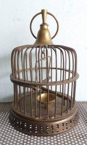 Lồng chim bằng đồng quý hiếm cao tầm 25cm nuôi chim nhỏ nhỏ  Phone : 0938 179 545