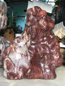Ms 9246.Cây đá thiên nhiên Việt Nam đỏ-đẹp,ca o 1m33