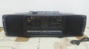 Đài Radio Cassette JVC PC-W150 (Hàng xuất điện Zin 220 vol)