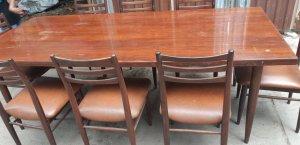 Bộ bàn 8 ghế cẩm lai