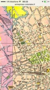 Postcard pháp gửi vn 1951