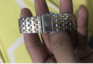 Đồng hồ Cyma 521 mạ vàng