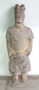 Tượng binh lính Tần Thủy Hoàng...