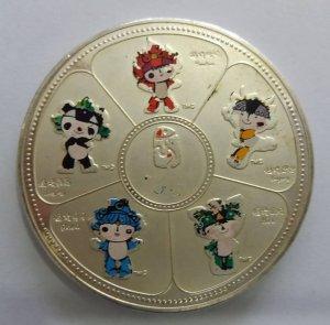 Huy chương bạc quý hiếm độc lạ...