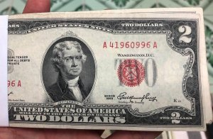 Giao lưu 25 tờ 2$ 1928, 50 tờ...