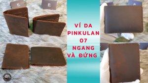 Ví da Pinkulan 07 Handmade