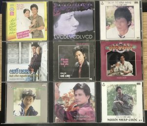 LÔ 20 CD F1 ca sĩ CHẾ LINH chất...