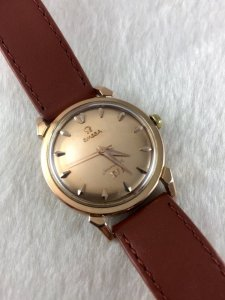 Omega Seamaster Olympic XVI Automatic solid 18k Rose gold Case & Dial Cal471