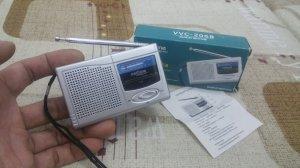 Đài Radio Mini bỏ túi. (Đài mới nguyên hộp 100%)