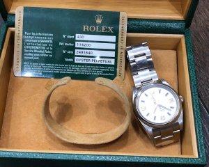 Rolex 114200, full box, thẻ 58tr