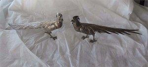 Cặp chim cổ bằng bạc của Tây Ban Nha cực đỉnh - cực hiếm