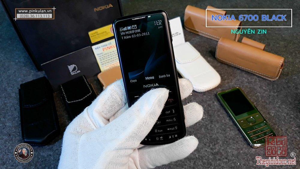 Nokia 6700 Chính Hãng | 6700 Black Nguyên Zin