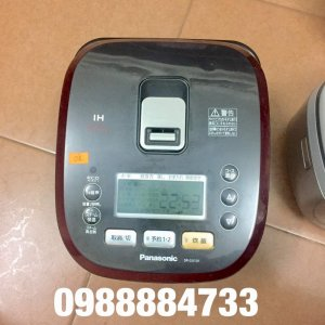 japan top Nồi cao tần cốc bù nước 200 độ C Econavi Panasonic SR-SX101
