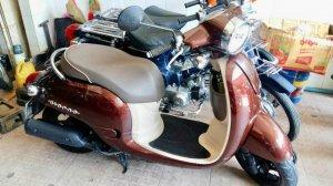 Honda GIORNO (2012) Cực Đẹp, Zin Nguyên Bản Japan 100%