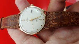 Đồng hồ Wittnauer vỏ bọc vàng xưa chính hãng
