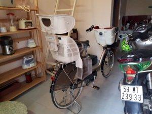Xe đạp trợ lực siêu vip siêu hiếm chở trẻ em Yama-Bridgestone - Angenlino