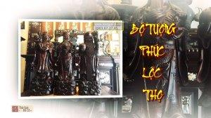Bộ tượng Phúc Lộc Thọ (tượng Tam Đa)
