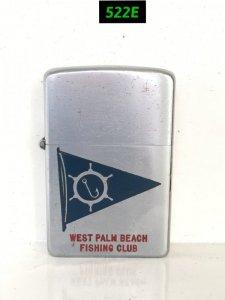522E-full thép 1952 WEST PALM BEACH FISHING CLUB ( câu lạc bộ câu cá West palm beach)