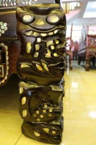 Ngũ Sơn cẩn ốc gỗ quý