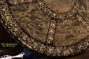 bộ bàn tròn long trụ cẩn ốc xưa.JPG