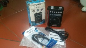 Đài Radio SONY 4 băng tần (mới...